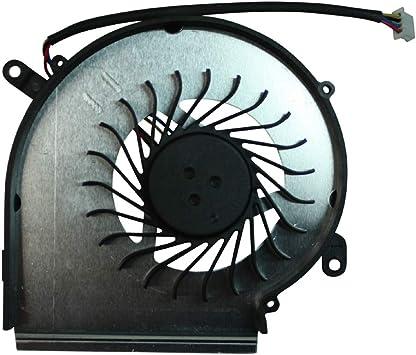 Power4Laptops Ventilador GPU para Ordenadores portátiles 4 Pin ...