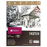 """HYACINTH Sketch Book,9""""x12"""", 80lb/130G, 30 Sheets"""