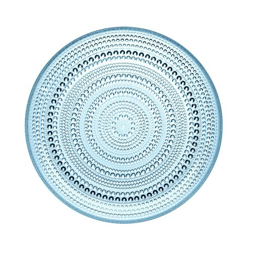 light blue dinner plates - 3