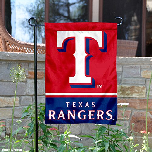 fan products of Texas Rangers Double Sided Garden Flag