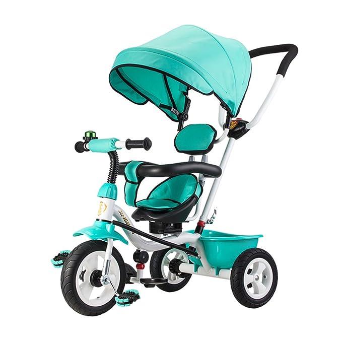 Niños triciclo, carretilla Niño coche 1-3-5 años de edad Jardín de infantes bebé carro bicicleta bebé bicicleta (Color : #1) : Amazon.es: Deportes y aire ...