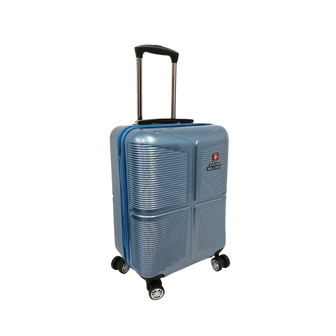 Swiss Military ABS 53 cm Blue Hardsided Check-in Luggage (HTL-28)