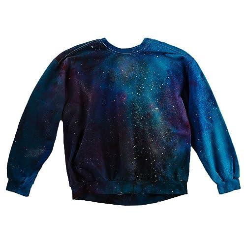 3cc4cdf14 Amazon.com: Galaxy Tie Dye Sweatshirt Unisex Festival Hoodie Grateful dead  Plus Size S, M, L, XL, XXL: Handmade