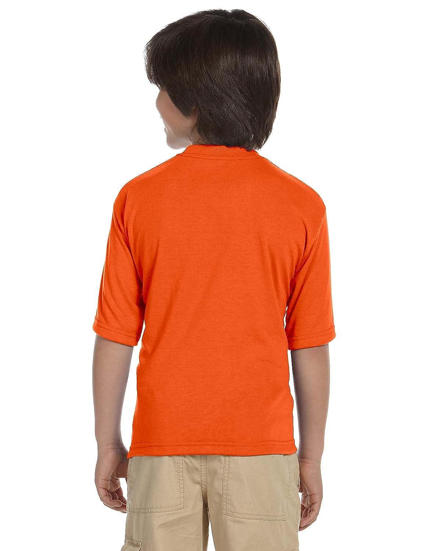 L Safety Orange Jerzees Youth JERZEES/® SPORT Polyester T-Shirt