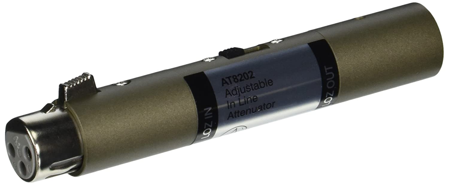 Audio-Technica AT8202 Adjustable Inline Attenuator Audio Technica MI