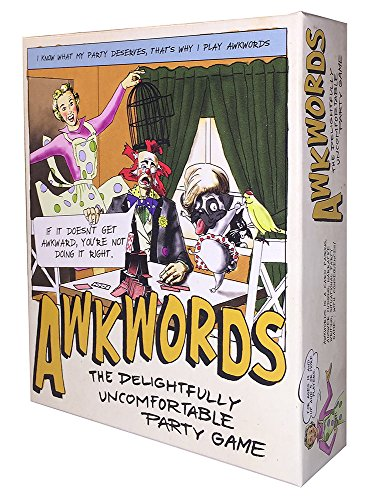 Awkwords: The Delightfully Uncomfortable Party Game by Awkward Games