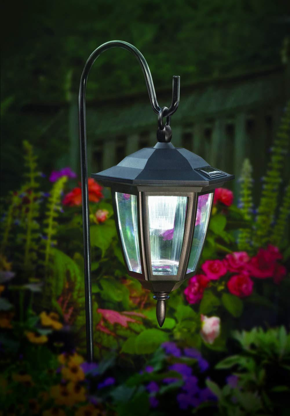 Maggift Lantern Outdoor Shepard Path Hanging Solar Lights, 2 Pack