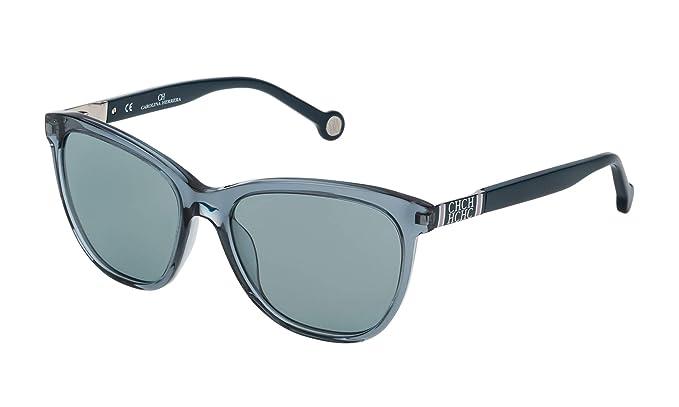 Carolina Herrera SHE691549ABG Gafas de Sol, Azul, 54 para ...