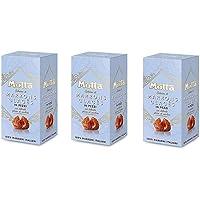 3X Motta Marrons Glaces Zoete Kastanjes met een Delicate Suikerglazuur in Stukken in een Doos 100% Italiaans 200g