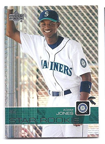 ADAM JONES 2003 Upper Deck Prospect Premieres #7 ROOKIE CARD RC XRC Baltimore Orioles ()