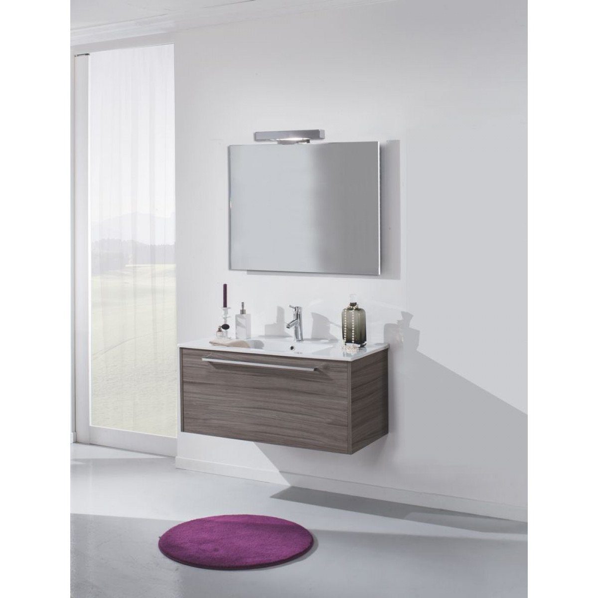 Meuble Salle De Bain Tft Home Furniture ~ Meuble De Salle De Bain Hw02 Pierre Tft Home Furniture Amazon Fr