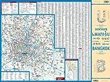 Laminated Bangkok Map by Borch