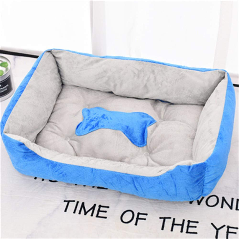 bluee M MQQXThe Best Choice of Soft and Antiskid Pets for Removable and Washable Four Seasons,Grey S