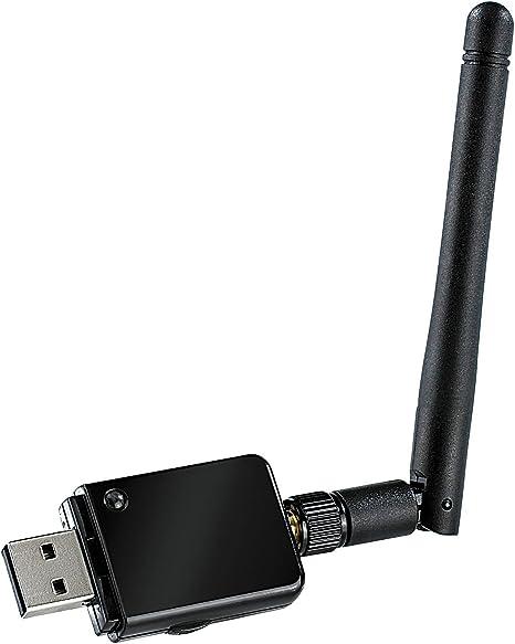 7links WiFi USB Adaptador: Mini USB de Wi-Fi Stick, 150 Mbit N (Draft) con extraíble de 2 dBi Antena (Wi-Fi dongles con antena)