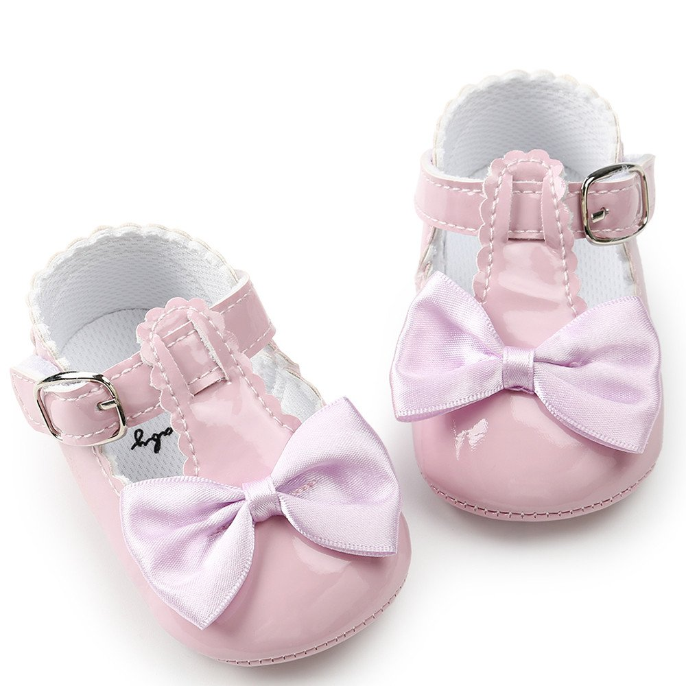 Baby Shoes 0-18 Months Kids ❤️ Xinantime Soft Sole Bowknot Sneakers Casual Princess Shoes