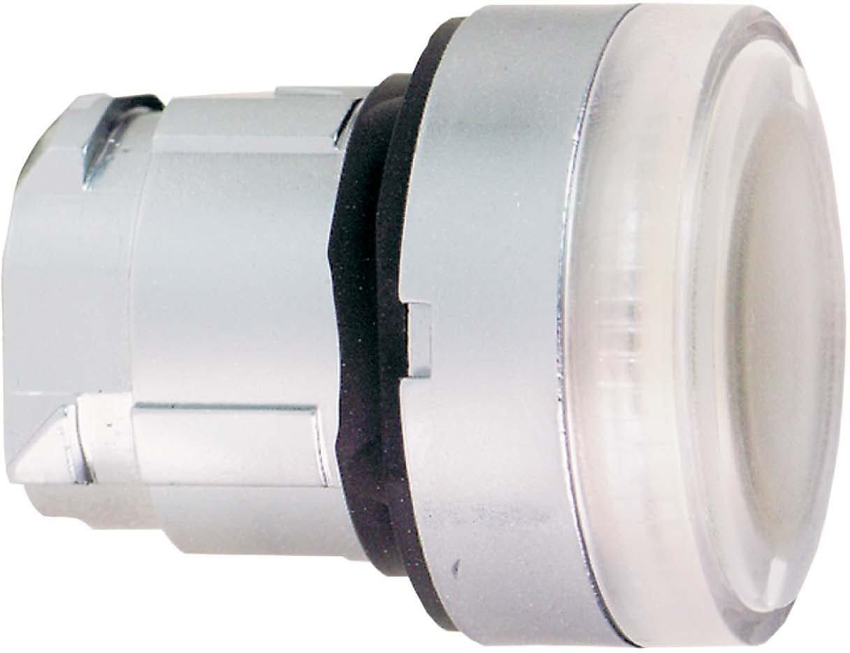 Schneider ZB4BW31 Frontelement Leuchtdrucktaster, Weiß , Durchmesser 22 cm