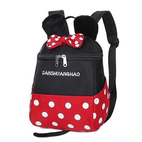 hzx tienda Disney Mickey y Minnie Mouse Escuela Bolsa, Mochila de viaje bolsa, cajas