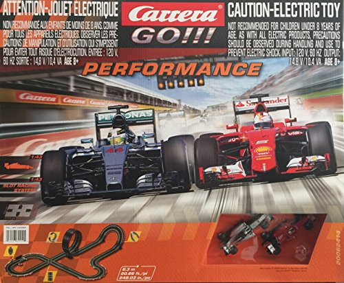 Carrera Go!!! Performance Slot Racing System (Mercedes & Ferrari) from Carrera USA