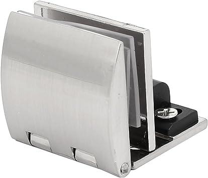 6Pcs Badezimmer Schrank Tür Glas Klemme Glas Scharnier Clips für 5mm 8mm Glas