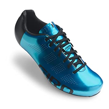 Giro Empire Road Cycling Shoes 2017 Blue Steel/Matt Black 45