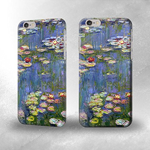 new concept 0bc4e 11393 Claude Monet Water Lilies iPhone 6 Back Case Cover: Amazon.co.uk ...