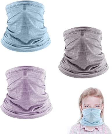 3 Pcs Cooling Kids Neck Gaiters, Summer Face Cover for Kids, Face Scarf  Bandana for Boys Girls Outdoor: Amazon.ca: Clothing & Accessories