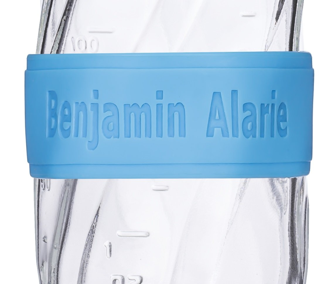 Custom Baby Bottle Labels for Daycare Blue Pink or Orange 4 Pack Sippy Cup Labels Personalized Bands by Momma & Me