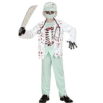 NET TOYS Disfraz Infantil Zombie Traje Doctor niño S 128 cm ...