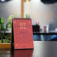"Thinkpot 2020 Be Yourself Compact Motivational Calendar - 6"" X 4"""