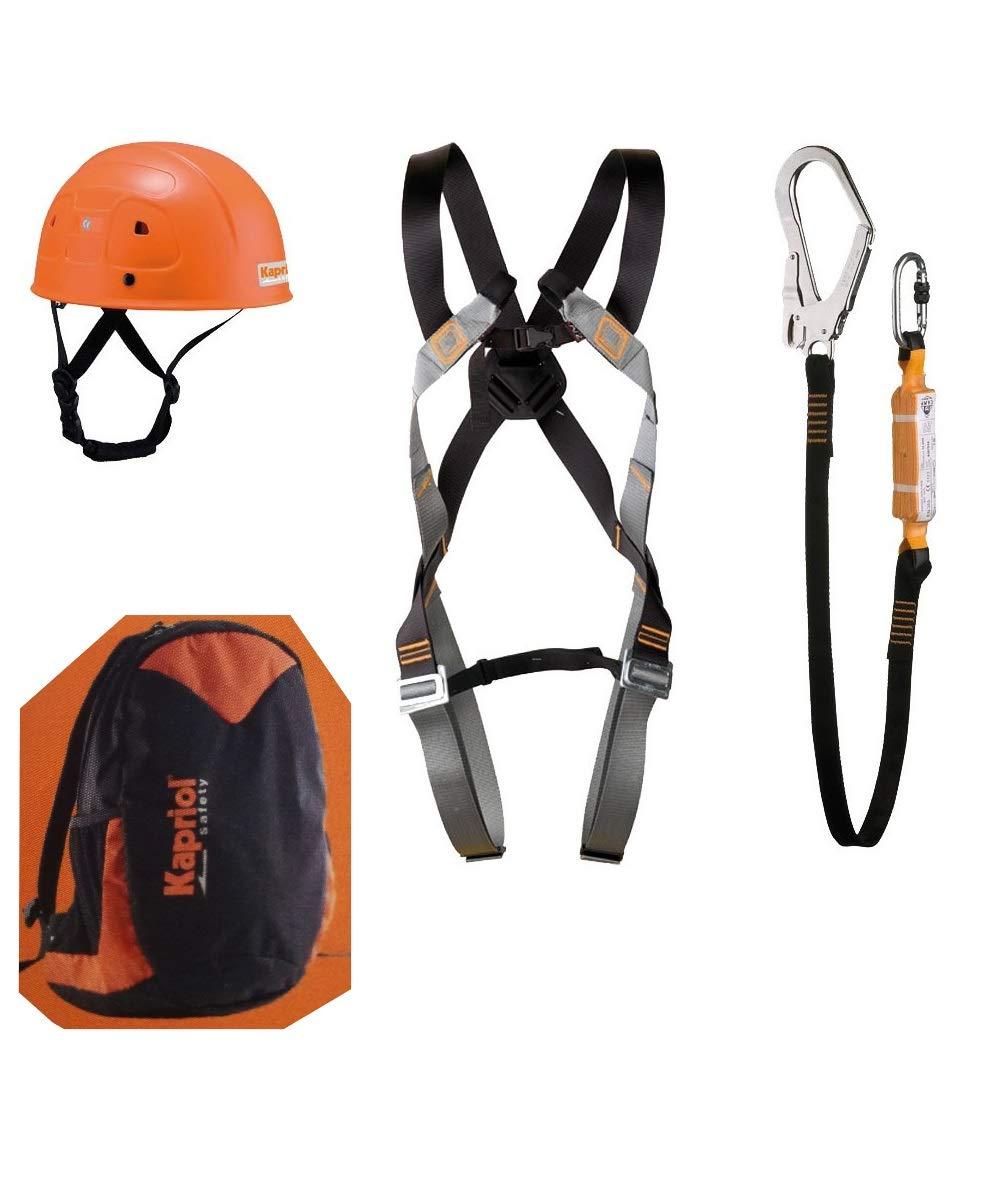 Kabriol - Kit de puñetazo + mochila con cordón para casco de ...