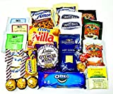 Hot Chocolate, Tea, Cookies and Candy Snacks Care Package | Take the Chill Off by Eats and More | 25 Piece Snack Box for College Students, Military, Road Trips and Gifts