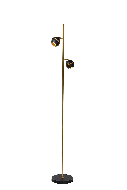 Lampadaire Lucide BINARI Blanc /Ø 20 cm LED 2x5W 2700K