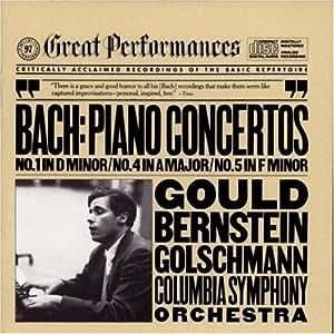 Bach: Piano Concertos nos 1, 4-5/Gould, Bernstein