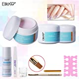 Elite99 3 Colors Acrylic Powder Liquid Brush Pen File Finger Separator Dappen Dish Nail Art Sets Extension Tips