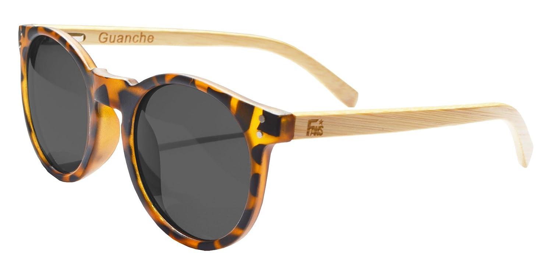 Gafas De Sol Fans Con Bambú, Polarizadas, Guanche, Unisex, Turtle: Amazon.es: Ropa y accesorios