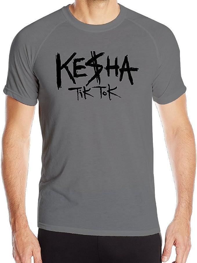 ktoops Mens Kesha Tik Tok secado rápido deportes t camisas: Amazon.es: Ropa y accesorios