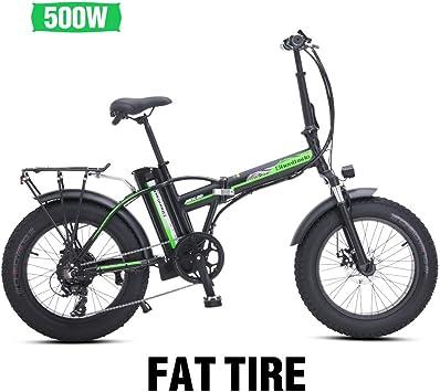 Bicicleta de montaña eléctrica 500W*48V*15Ah 20Inch Bicicleta de ...