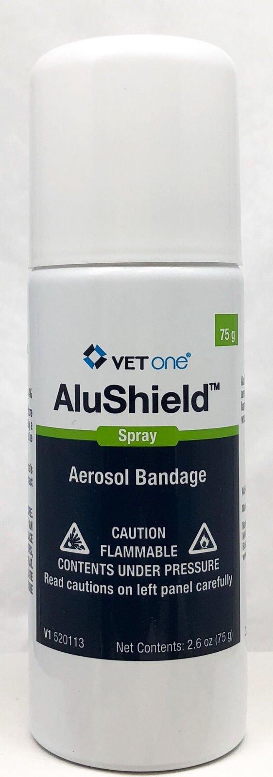Vetone AluSpray Aerosol Bandage Aids 2.6oz