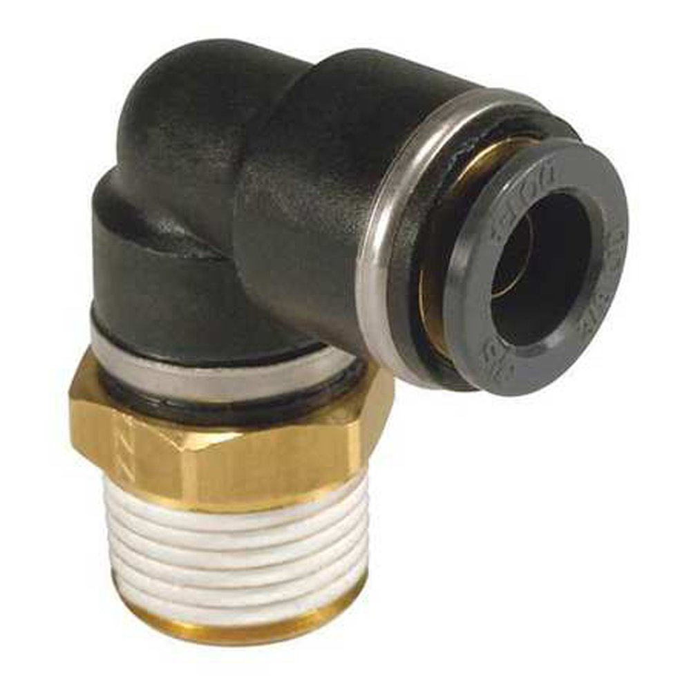 SMC KV2L13-36S DOT brass fitting package of 10 SMC Corporation KV2 FITTING male elbow