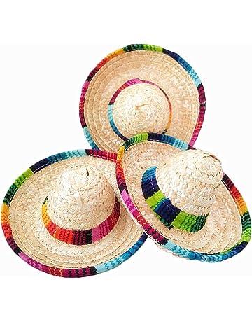 Crazy Night Natural Straw Mini Sombrero New Design Mini Mexican hat 07380eb46c7