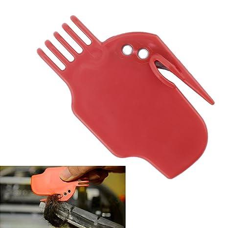 Raspador de película herramienta de limpieza de cepillo de peine plana Fuentes de robot de barrido
