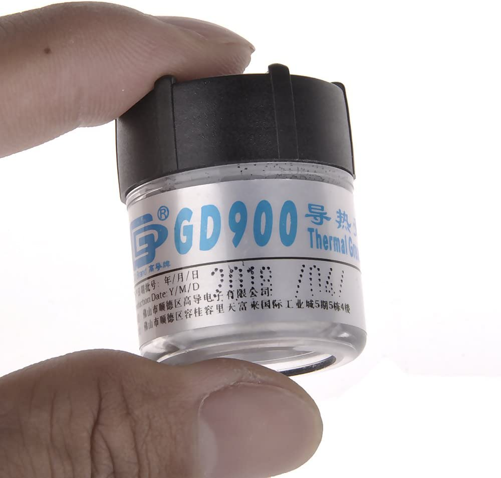 MOHALIKO Thermal Paste High Performance Thermal Grease GD900 30g Heatsink Cooling Compound Thermal Conductive Grease Paste for CPU GPU GD380