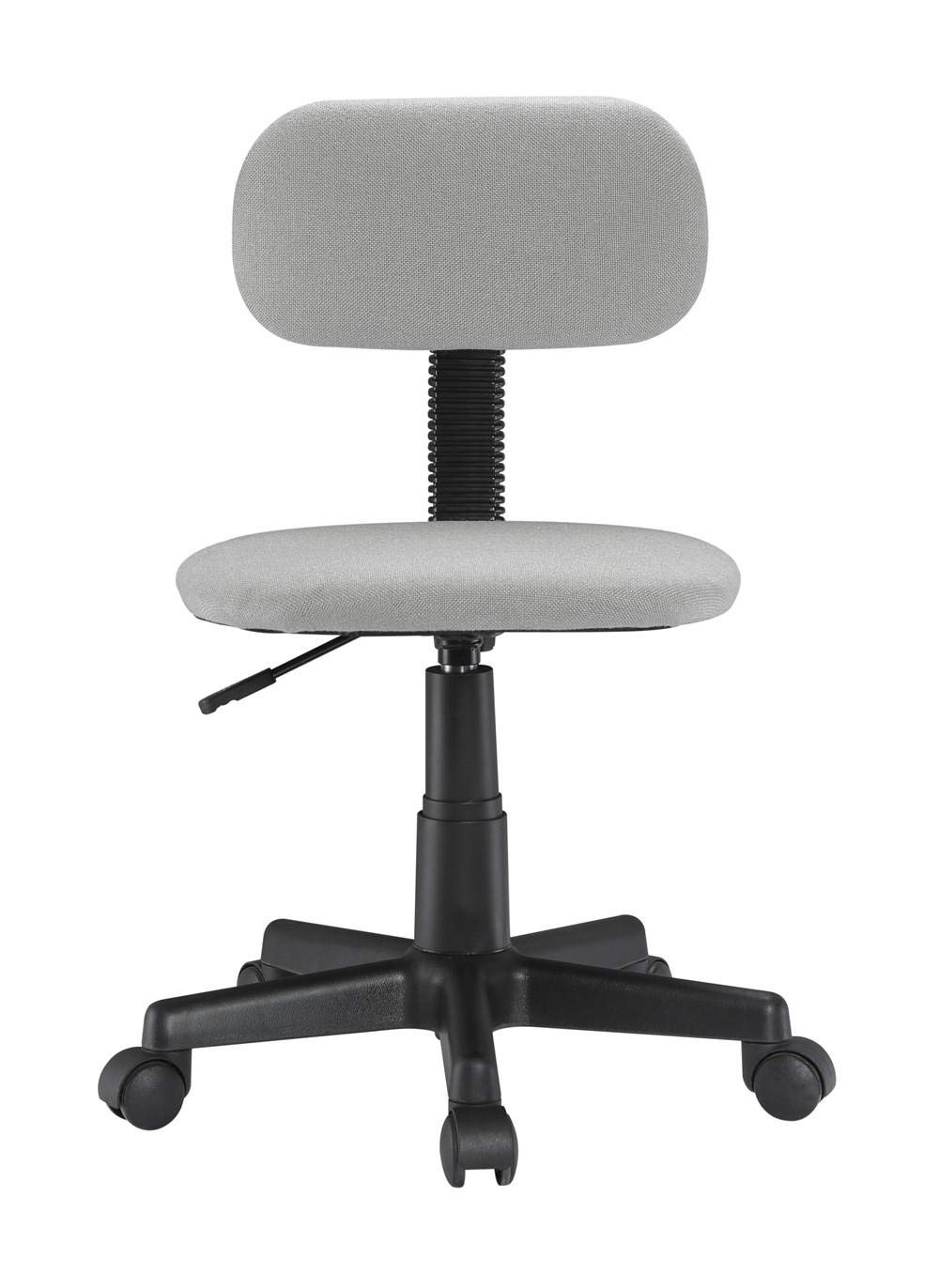(not Included Desk) PrimeCables Childrens Ergonomic Height Adjustable 360 Swivel Student Study Mid-Back Mesh Desk Chair Grey