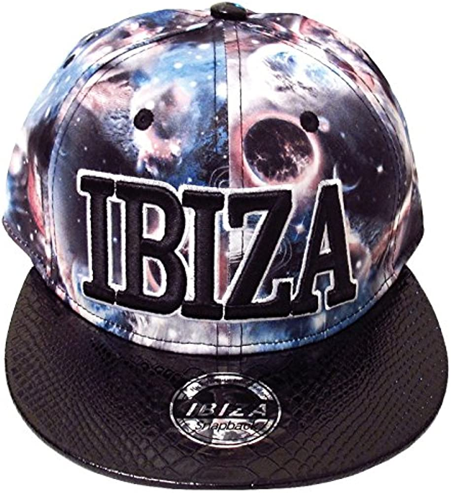 Love Ibiza: Universo Cósmico Gorra Snapback - Negro, Talla única ...