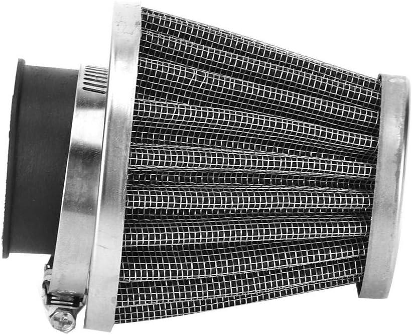 39mm Qiilu Accesorio de modificaci/ón de la motocicleta del filtro del filtro de aire del motor de la seta
