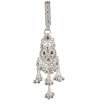 Silver Key chain from India Women Keyrings 13.3 Centimeters  Amazon ... e62e5d5fe