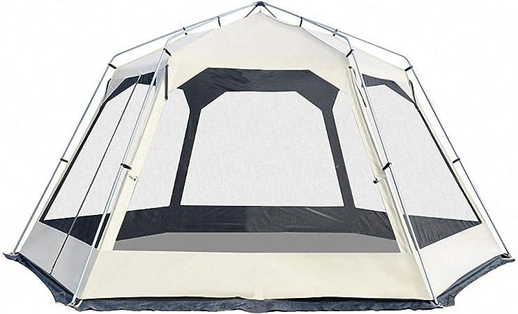 Dapengzhanchi Dceer Camping Exterior pérgola Transpirable Plata protección UV 10 Personas Carpa (Color : A01): Amazon.es: Deportes y aire libre
