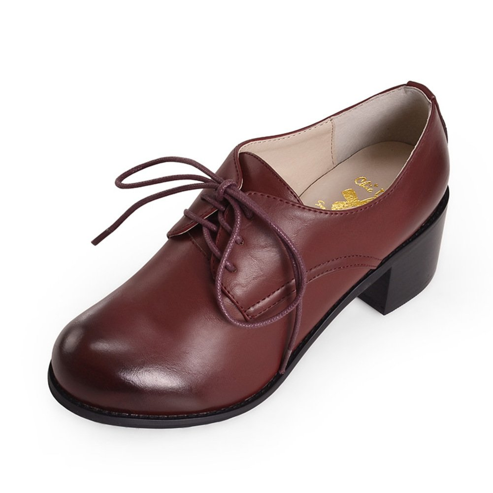 Fashion Style Shoes of England//tie Oxford Shoes//Women Shoes with Big Size