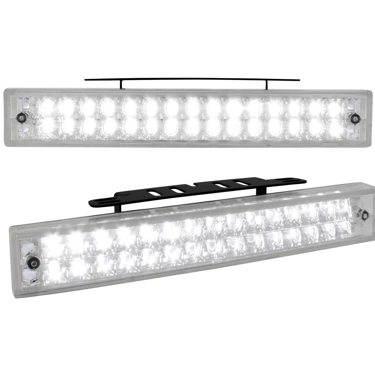 2 St/ück Dectane LGX06 Tagfahrlicht mit 30 LED LxHxT 190x30x40mm