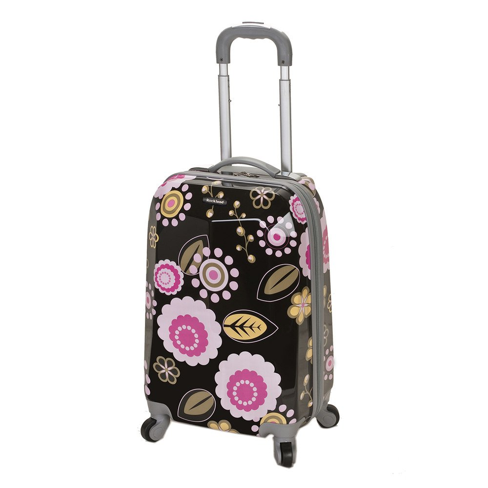 Rockland 20 Inch Polycarbonate Carry On, Pucci